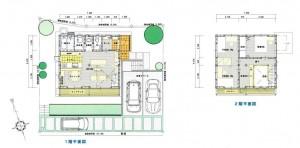 建売住宅6号地 図面