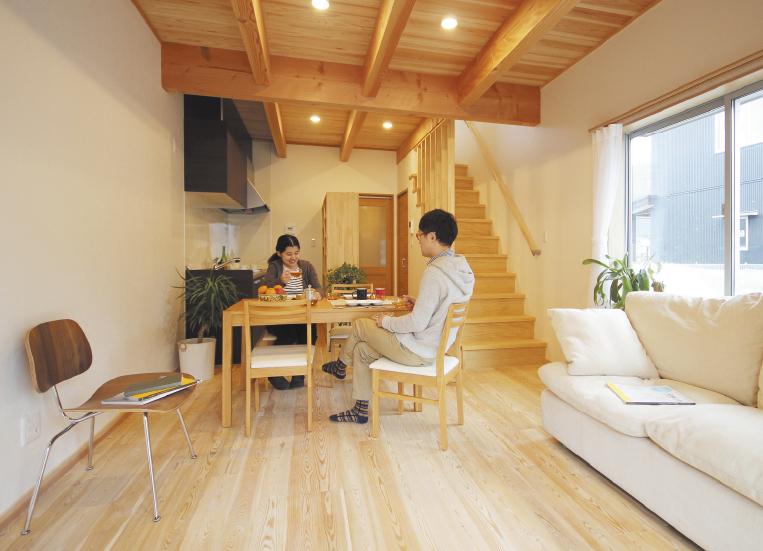 木づくり省エネ型アパートコンセプトイメージ